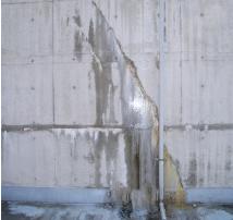 止水および漏水防止箇所